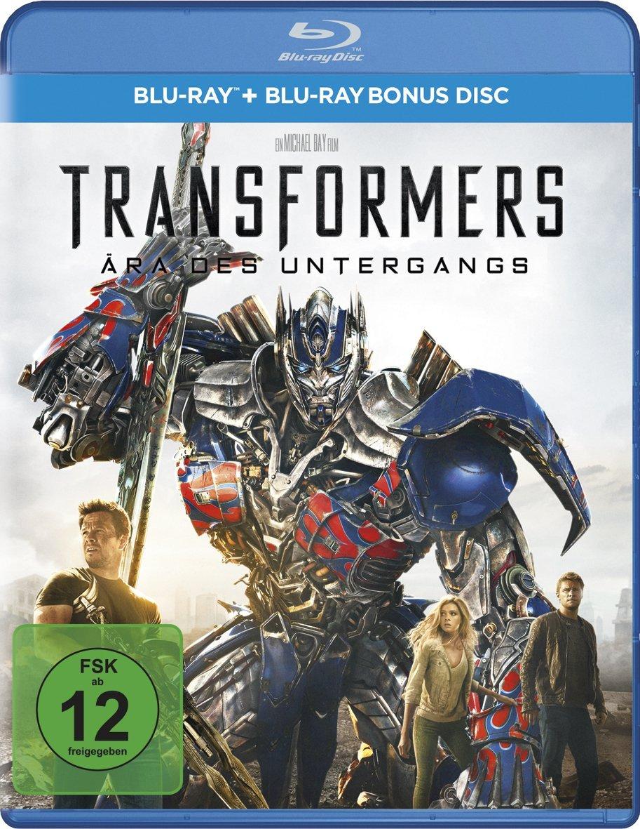 Transformers Ära des Untergangs (2x Blu-ray) für 3,67€ (Dodax)