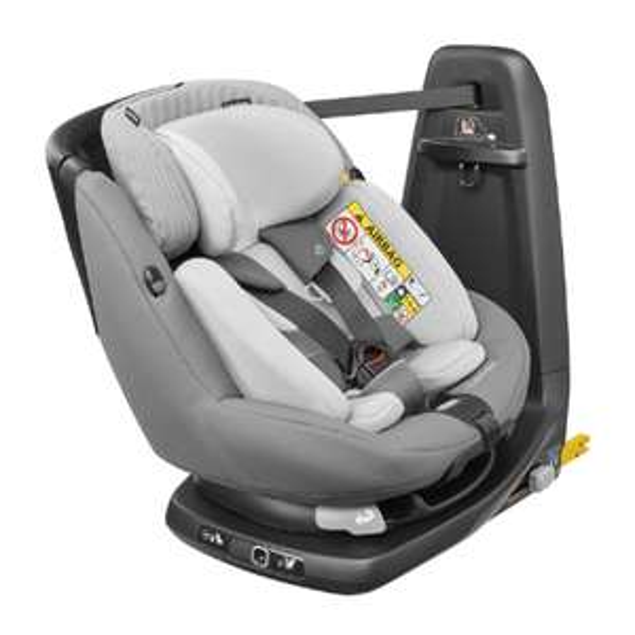 Babymarkt - MAXI COSI Kindersitz AxissFix Plus Concrete grey