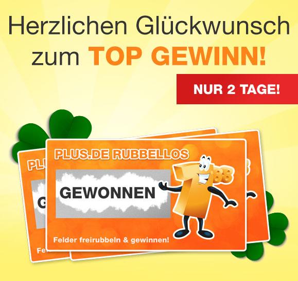 Rubellose bei Plus.de - bis zu €100 Rabatt