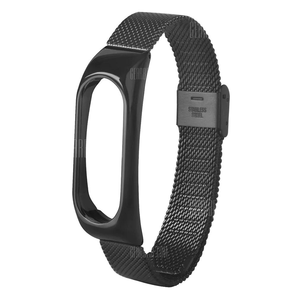 Stahl-Armband für Xiaomi Mi Band 2 (Gearbest)