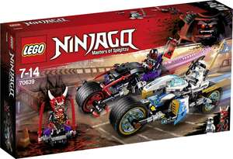 LEGO® NINJAGO 70639 Straßenrennen des Schlangenjaguars für 22,09€