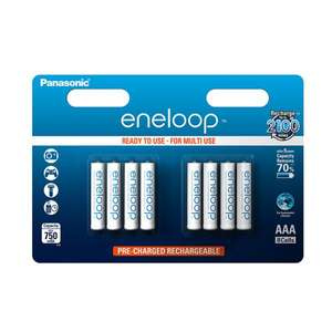 Panasonic eneloop AAA Akkus 8er Blister 750mAh Micro NiMH Ready-to-Use