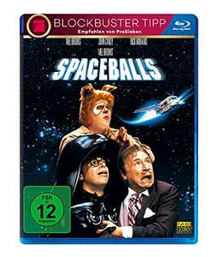 Spaceballs (Blu-ray) & Mel Brooks' Die verrückte Geschichte der Welt (Blu-ray) für je 6,77€ (Amazon Prime)