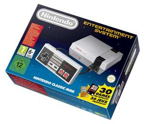 Nintendo Classic Mini: Nintendo Entertainment System für 61,94€ (Vorbestellung) [Amazon.es]