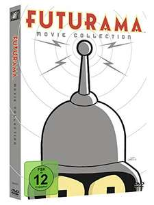Futurama - Movie Collection [4 DVDs] [Amazon Prime]