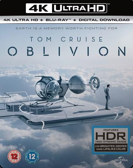 Oblivion (4K UHD + Blu-ray + UV Copy) für 10,30€ (Zoom.co.uk)