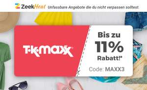 Zeek Heat Fashion-Special - 11% bei TK Maxx