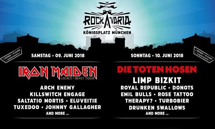 Rockavaria 2018 - Festival Tickets günstiger!