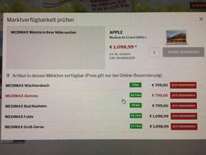 "Macbook Air 13"" 2017 (Lokal)"