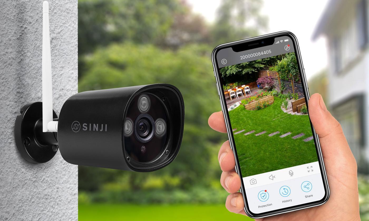 Sinji Outdoor-Kamera in schwarz für 42€ inkl. Versand @Dealcub
