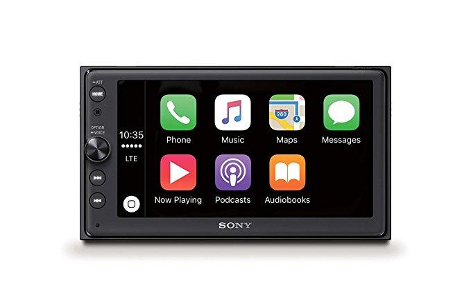 Sony XAV-AX100 Doppel DIN CarPlay Radio bei Amazon im Angebot