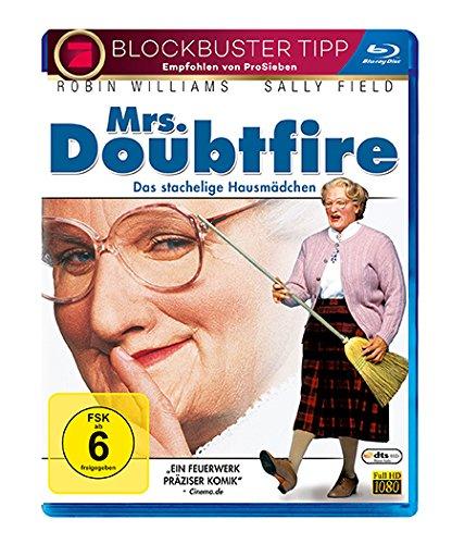 Mrs. Doubtfire - Das stachelige Kindermädchen (Blu-ray) für 6,77€ (Amazon Prime)