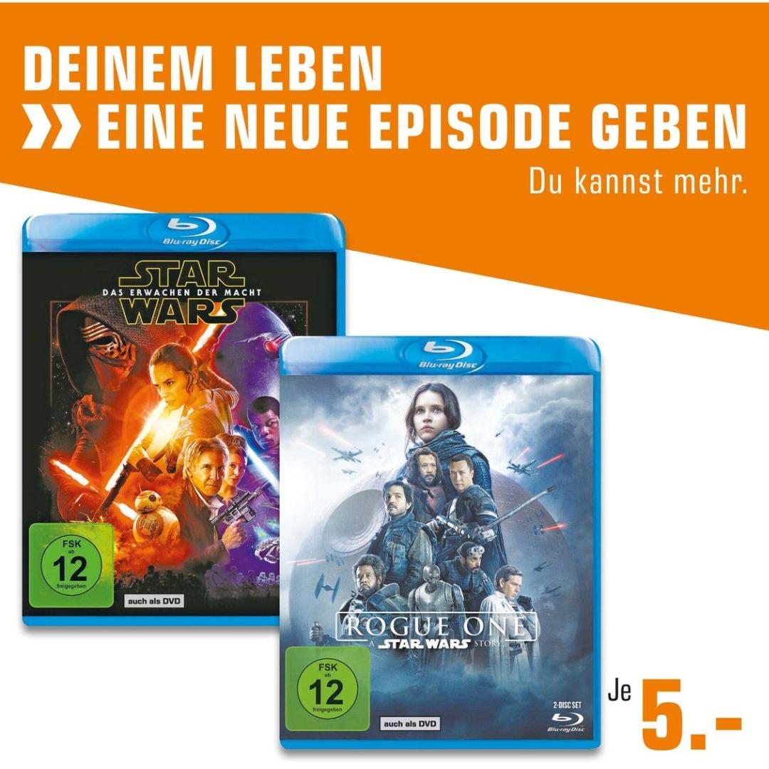 [Lokal Berlin] Saturn Star Wars Rogue One & Erwachen der Macht Blu ray
