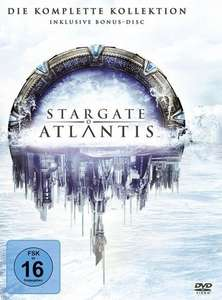 Stargate Atlantis - Die komplette Kollektion (26 DVDs) für 36,52€ (Amazon)