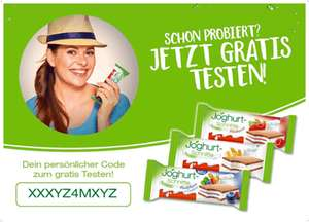 Joghurt-Schnitte gratis testen 2018 (5er Packung, 3 Sorten)