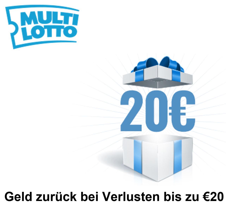 Multilotto.net Geld zurück bei Verlusten bis zu €20