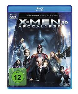X-Men Apocalypse (3D Blu-ray + Blu-ray) für 11,02€ (Amazon Prime)