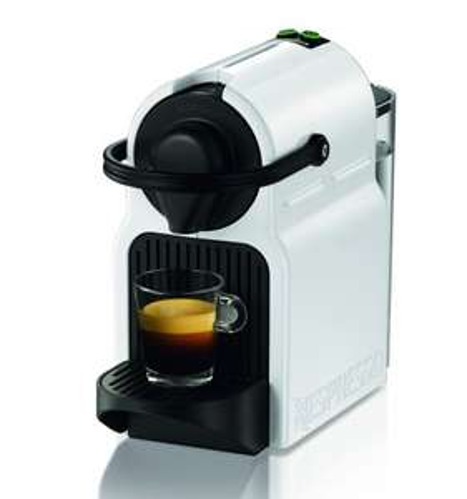 40€ Kaffeeguthaben beim Kauf einer Nespresso Inissia & Kapseln, z.B. Krups XN1001 Inissia Nespresso Kapselmaschine Weiss