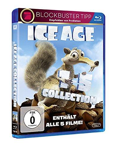 (Amazon Prime) Ice Age 1-5 auf Blu-Ray für 19,54 EUR