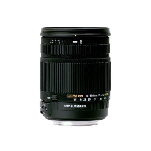 Sigma 18-250mm f3.5-6.3 DC Makro OS HSM Objektiv für Nikon für 214,03€ (Amazon.fr)