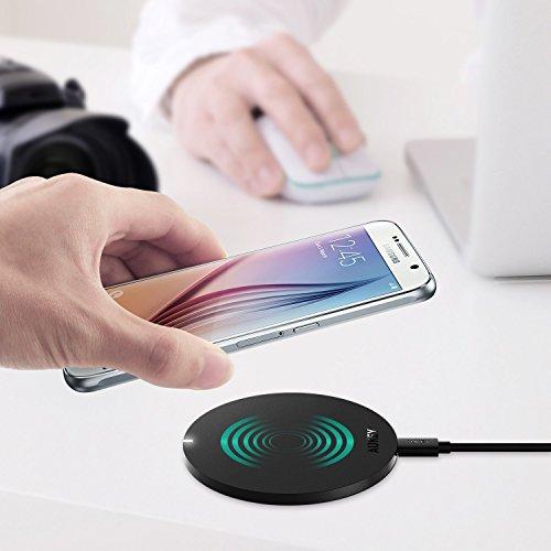 QI-Ladegeräte Apple/Android -  Aukey für 6,99 / 9,99 Euro