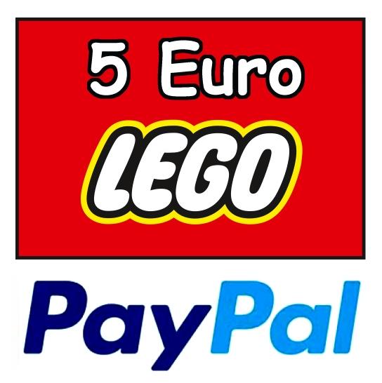 5 Euro Paypal Guthaben im LEGO Online-Shop ab 10 Euro Warenwert