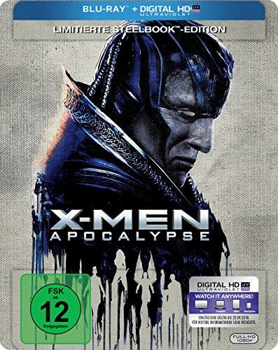 X-Men Apocalypse Limited Edition Steelbook (Blu-ray + UV Copy) für 8,47€ (Amazon Prime)