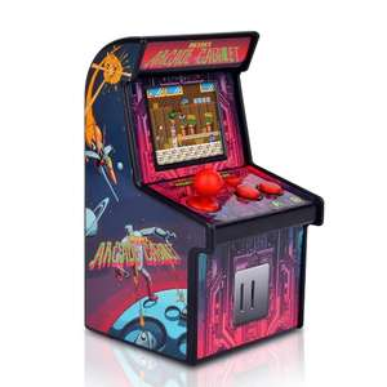 Mini Retro Arcade - Spielautomat mit 200 Games bei [cafago]