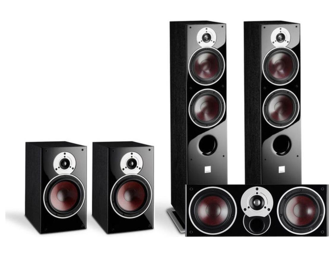[Schweiz] DALI Zensor Black 5.0 Set (5, 1, Vocal)