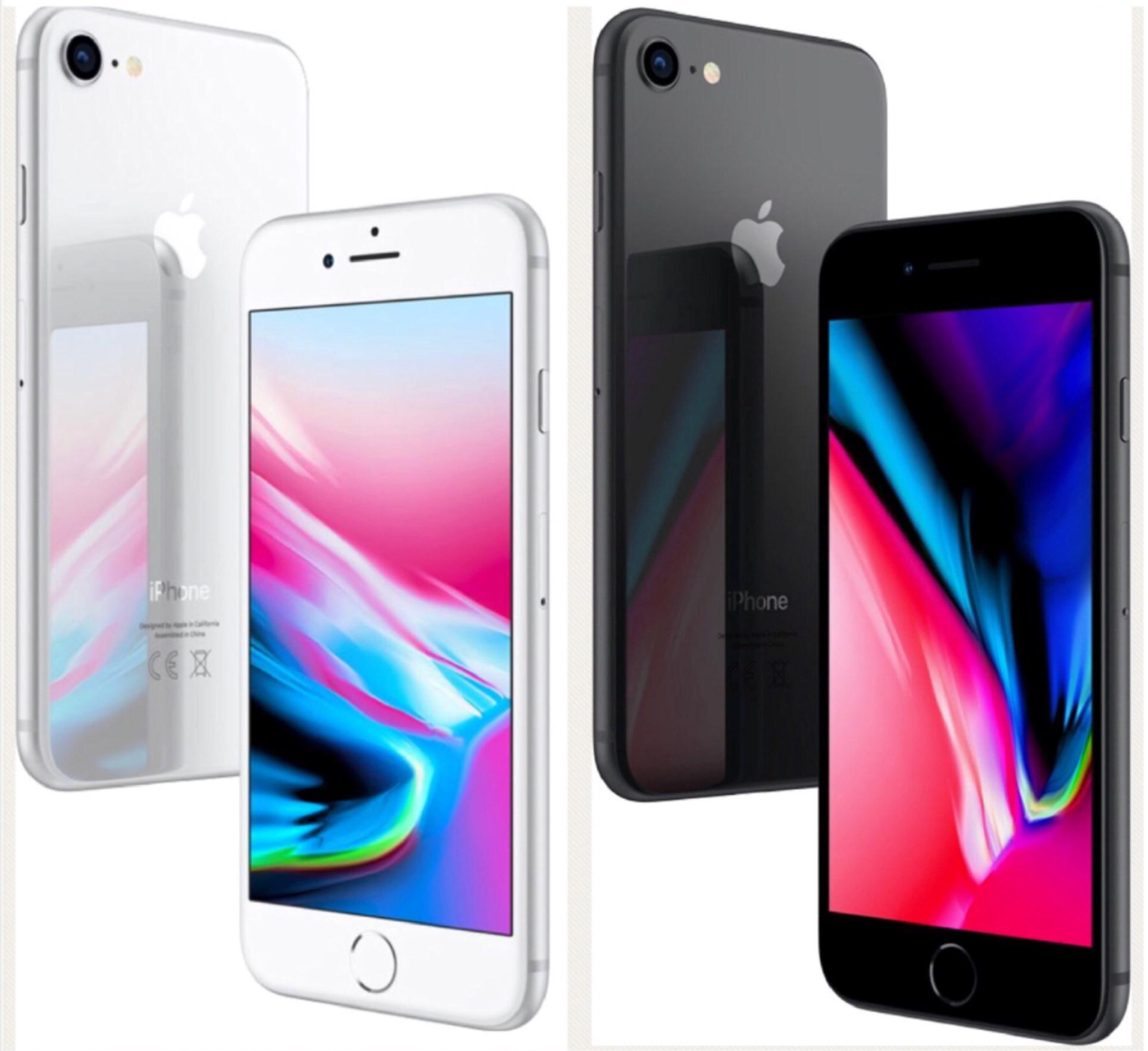 Apple iPhone 8 64 GB spacegrau oder silber NEU OVP ab 592,41€ [ebay]