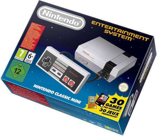 NES classic mini-Konsole für 69,99€ (ab 29.6.) + Versandkostenfrei bei Gamestop