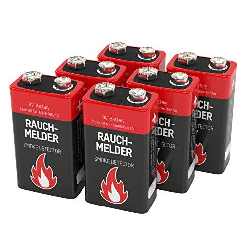 Ansmann Alkaline Rauchmelder Batterien – 6 Stück für nur 7,99 € bei AMAZON