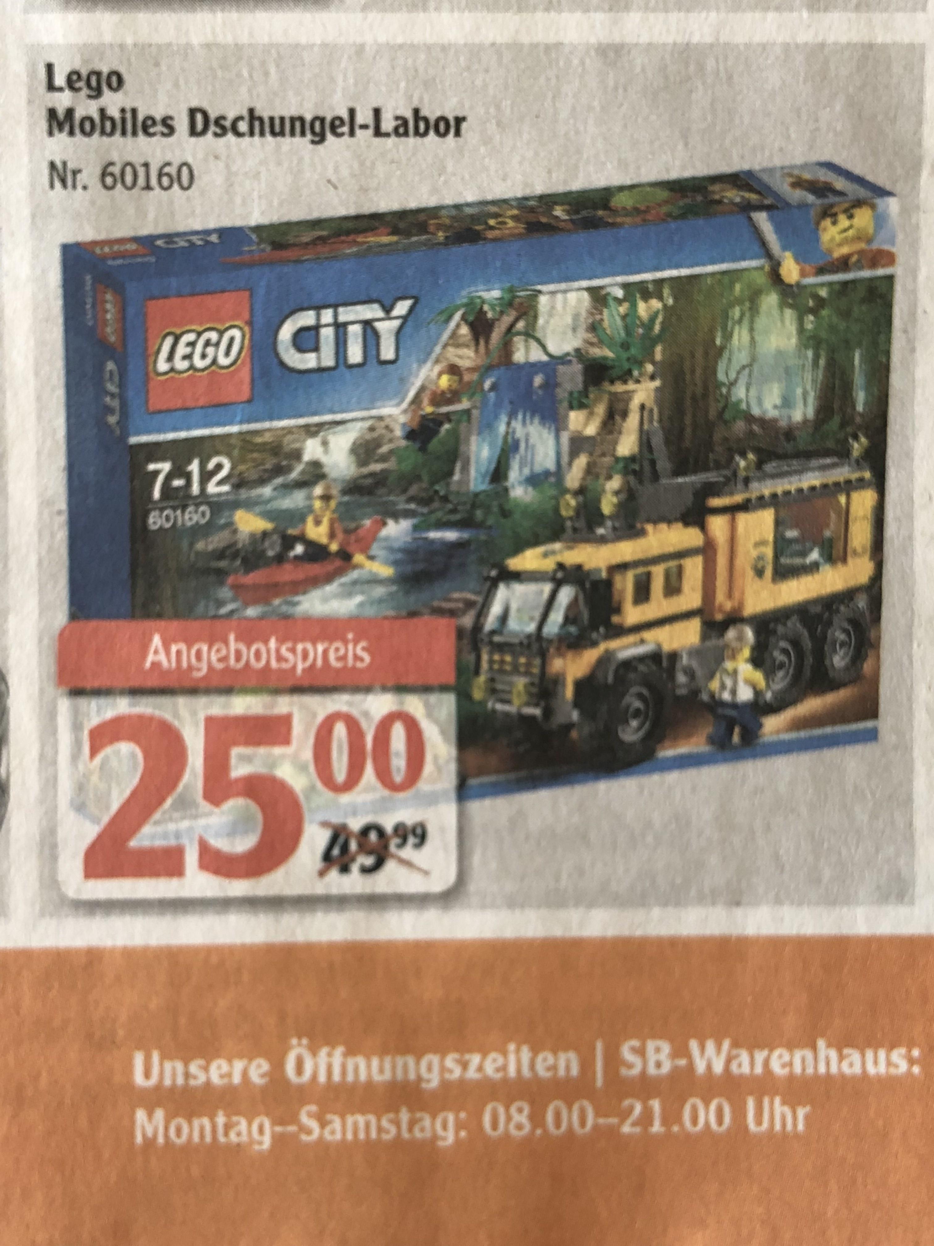 [Lokal GLOBUS Koblenz, Lahnstein] - LEGO City - Mobiles Dschungel-Labor (60160)