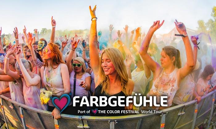 Farbgefühle Color Festival 2018 Hamburg - Festival Tickets für zwei Personen günstiger!