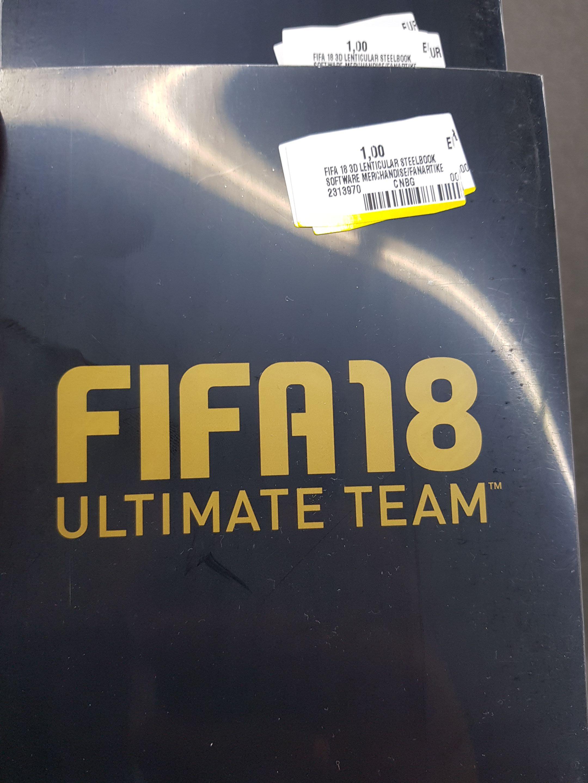 [Lokal] Media Markt Duisburg-Großenbaum - FIFA 18 Steelbook Ultimate Team (ohne Spiel)