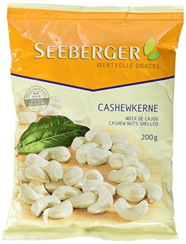 [Amazon Prime] 12x 200g  Seeberger Cashewkerne für 23,66 Euro