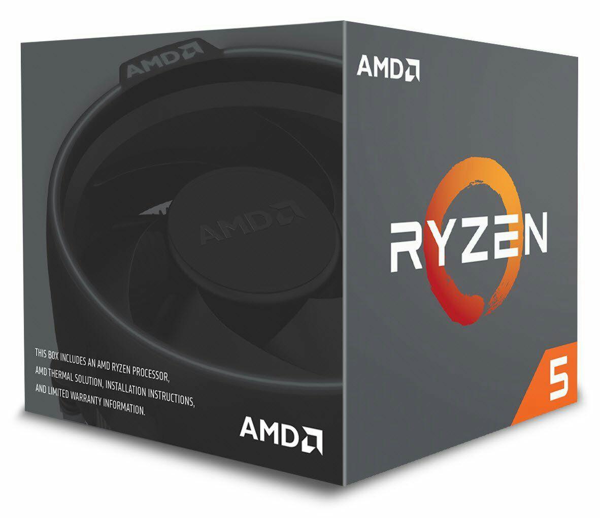 AMD Ryzen 5 2600 Prozessor - 6 Kern, 3.4GHz (Boxed) mit Wraith Stealth Kühler (Amazon.fr) *NEUER PREIS*