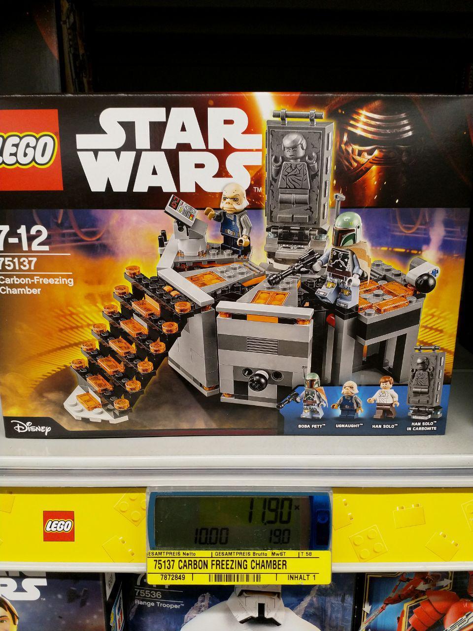 LEGO Star Wars - Carbon Freezing Chamber (75137) [Lokal Metro?]
