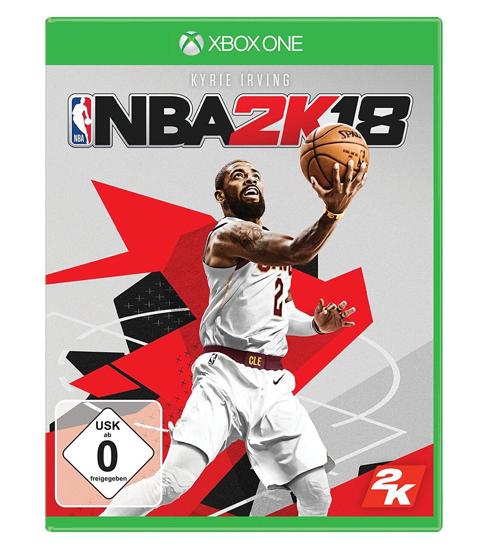 NBA 2K18 & WWE 2K18 (Xbox One & PS4) für je 14,99€ versandkostenfrei (Saturn Amazon Prime)