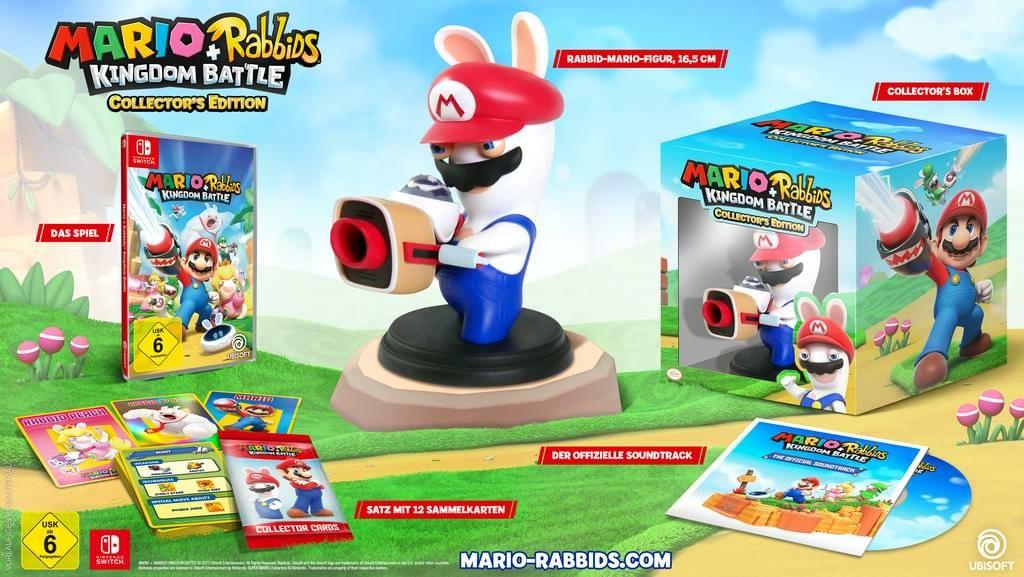 Mario + Rabbids: Kingdom BattleCollector's Edition (Switch) bzw. 34,97€ mit Newsletter-Gutschein