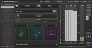 MeldaProduction MSpectralDelay Audio-Plug-in (VST/AU/AAX)