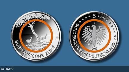"""5€ Münze """"Subtropische Zone"""" zum Nennwert bei der Bundesbank erhältlich"""