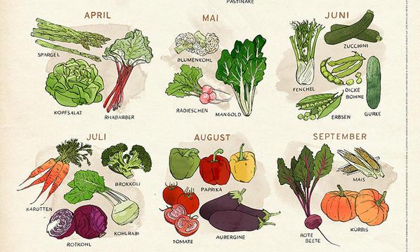 Gemüseposter von Greenpeace