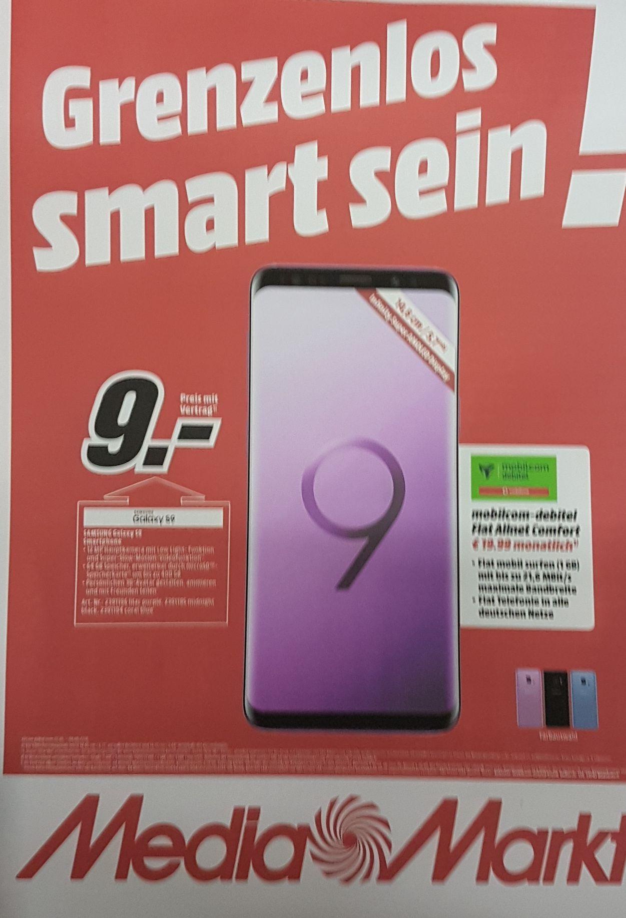 MediaMarkt (Lokal?) Hamburg Samsung S9 | 1GB Vodafone Netz