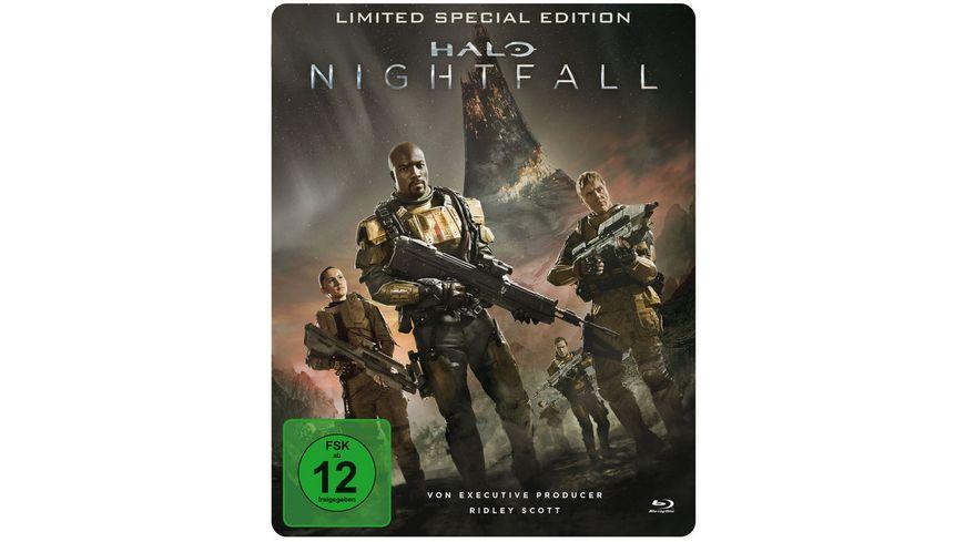 (Müller) Halo - Nightfall [Blu-ray] (Limitiertes Steelbook) für 4,99 EUR