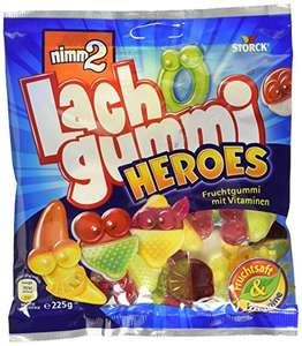 [Amazon] 15x 225g nimm2 Lachgummi Heroes (=3,375KG)