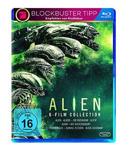 [Amazon] Alien 1-6 Blu-ray Collection [Blu-ray] für 29,72€ (Amazon Prime)