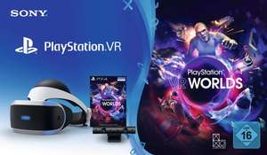 Sony Playstation VR + Playstation Kamera + VR Worlds für 244€ versandkostenfrei [Real]