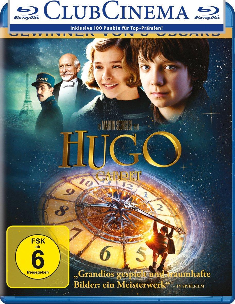 Hugo Cabret (Blu-ray) für 3,80€ (Dodax)