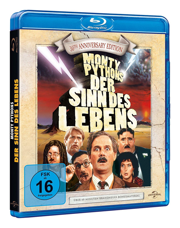 (Dodax / Amazon Prime) Monty Python's Der Sinn des Lebens - 30th Anniversary Edition [Blu-ray] für 5,54 EUR